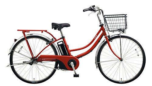 Panasonic(パナソニック) 2018年モデル ティモW 26インチ カラー:クラシカルレッド BE-ELWD632-R2 電動アシスト自転車 専用充電器付 B078K8VKSF