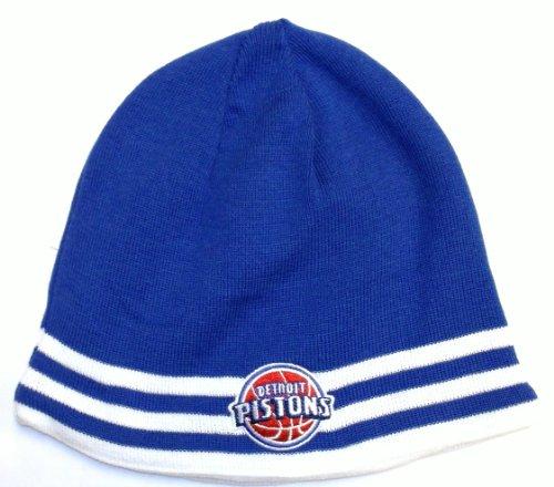 NBA Detroit Pistons Reversible Adidas Knit Hat - osfa - K948Z Adidas Nba Reversible Knit Hat
