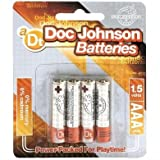 Doc Johnson Batteries AAA 4 Pack (Package Of 4)