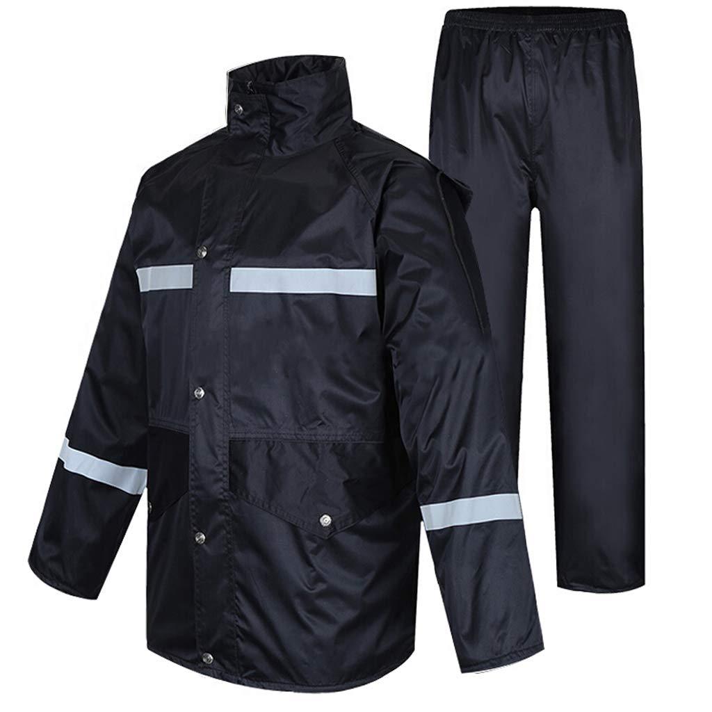 Erwachsener Regenmantel Herren Split Regenbekleidung Hosenanzug Atmungsaktive Fischerjacke Damen wasserdichte Sportbekleidung für Motorrad Outdoor Camping Laufen Ski