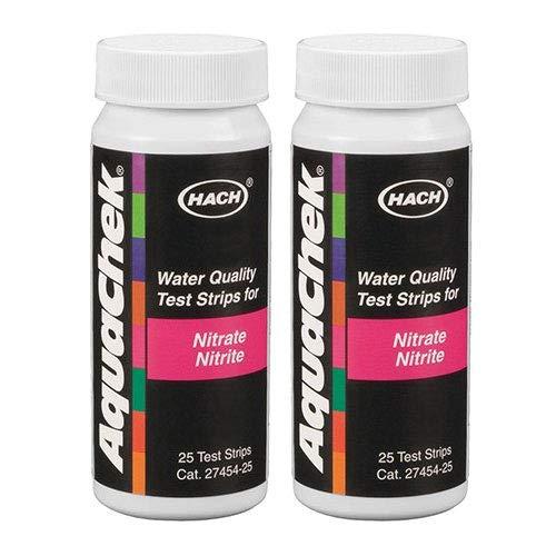 50) AQUACHEK 641426E Nitrate/Nitrite Test Strips Swimming Pool/Spa 2 ()