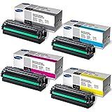 Samsung CLX-6260FD High Yield Toner Set (BK 6000/Color 3500 Pages)