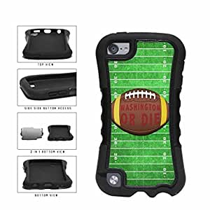 Washington or Die Football Field 2-Piece Dual Layer Phone Case Back Cover Apple iPod Touch 5th Generation