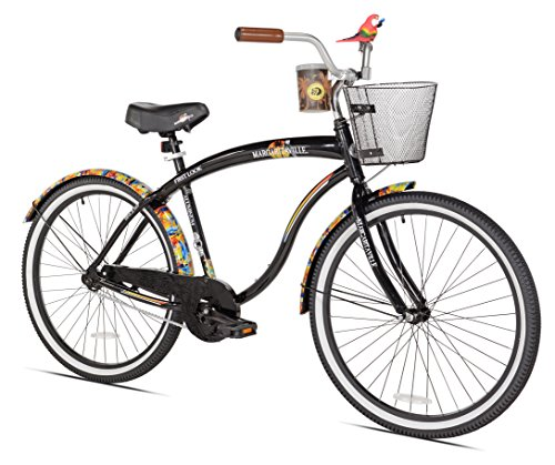 Margaritaville First Look Men's Beach Cruiser Bike, 26-Inch by Margaritaville