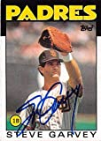 Steve Garvey autographed baseball card (San Diego Padres) 1986 Topps #660 - Baseball Slabbed Autographed Cards