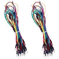 ELEGOO 130pcs Solderless Flexible Breadboard Jumper Wires male to male for Arduino Breadboard