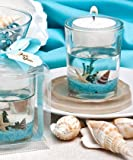 Stunning beach-themed candle favor, 72