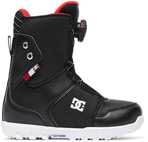 DC Scout BOA Snowboard Boots Black Kid's Sz 3 ()