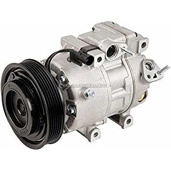 AC Compressor & A/C Clutch For Hyundai Santa Fe and Kia Sorento - BuyAutoParts 60-03476NA New