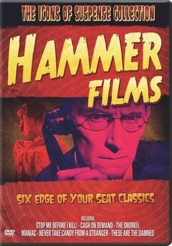 The Icons of Suspense Collection: Hammer Films (Stop Me Before I Kill! / Cash on Demand / The Snorkel / Maniac / Never Take Candy from a Stranger / These Are the Damned) by Sony Pictures