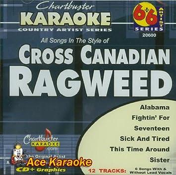 Amazon com: Chartbuster Karaoke 6X6 CDG CB20600 - Cross