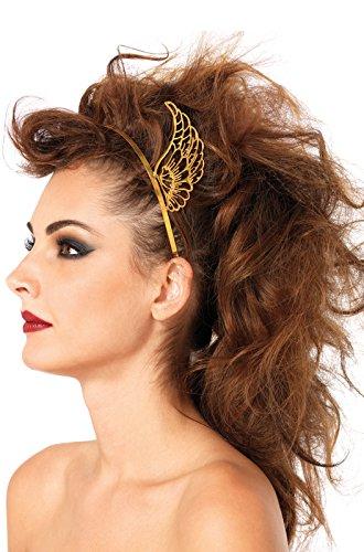 [Leg Avenue Women's Pegasus Headband, Gold, One Size] (Roman Goddess Accessories)