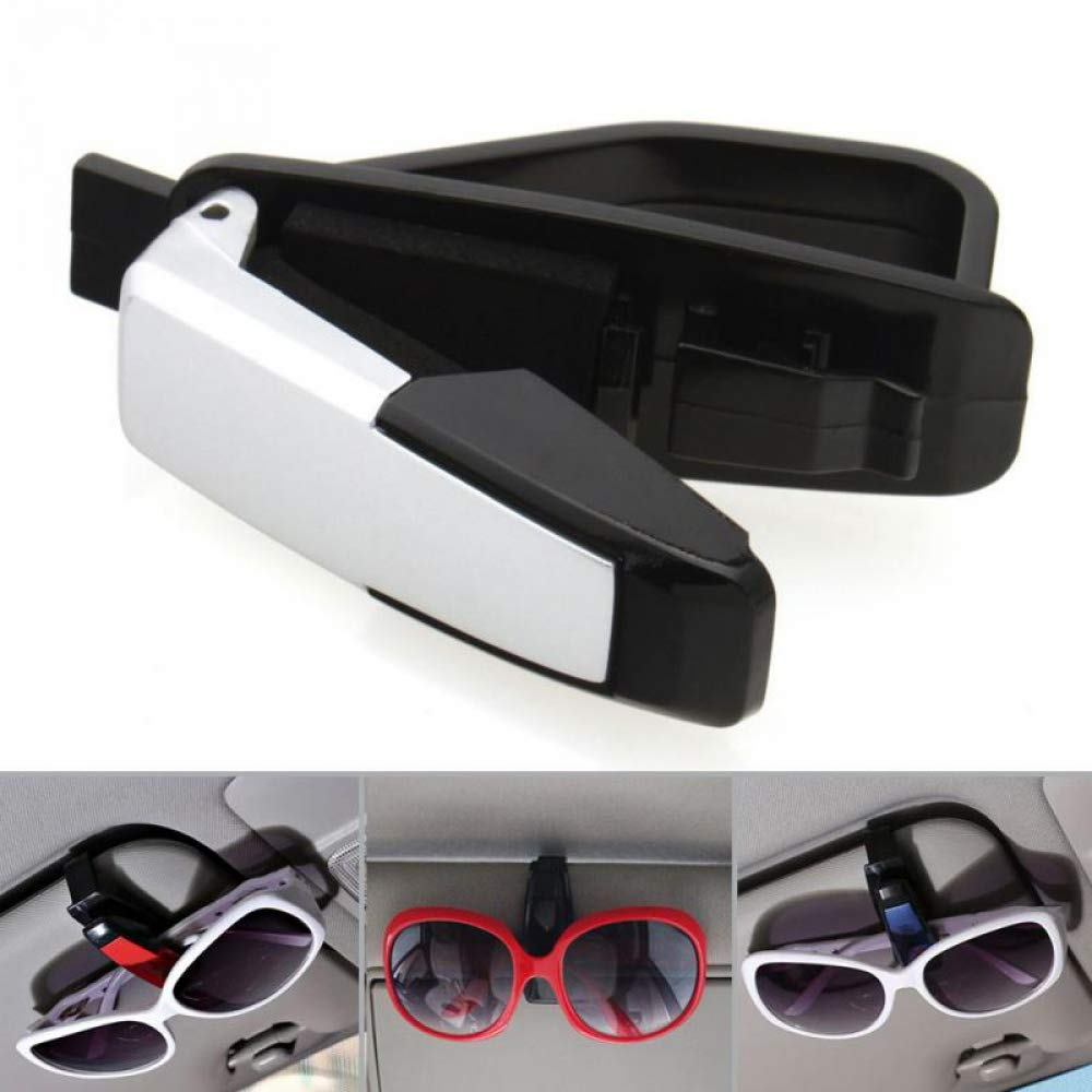 WBXHZYDGJ 25pcs car Fasteners car Visor Sunglasses Glasses Frames Card Holders car Accessories
