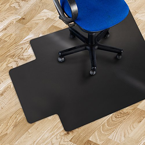 Chair Mat with Lip for Hard Floors | Polypropylene Chair Floor Protector | 100% BPA, Phthalate & Odor Free | 36