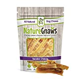 Cheap Nature Gnaws Tendon Bites 2-4″ (24 Count) – 100% Natural Grass Fed Beef Chews Small Dogs
