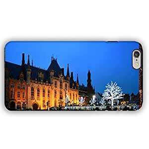 European Castle Christmas iPhone 6 Armor Phone Case