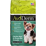 Avoderm Natural Small Breed Adult Dry Dog Food, Chicken Meal & Brown Rice, 3.5-Pound