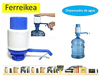 Dispensador de agua manual para garrafas - bomba compatible con botellas (PET) de 5, 6, 8 y 10 litros: Amazon.es: Hogar