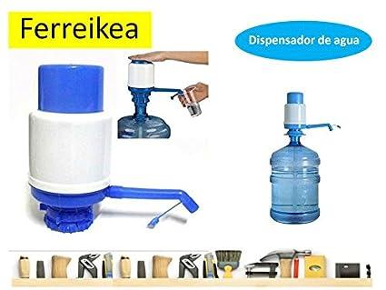 Dispensador de agua manual para garrafas - bomba compatible con botellas (PET) de 5