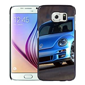 New Personalized Custom Designed For Samsung Galaxy S6 Phone Case For Blue Volkswagen Beetle Phone Case Cover