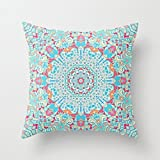 wendana 18 x 18 BOHO SUMMER JOURNEY cushion covers decorative pillowcase accent pillows for girls