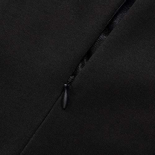 Femme Crayon Robe Clearlove 4 Black Sleeve 3 wzqxfp
