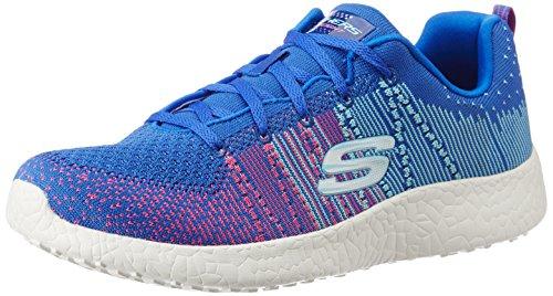 Skechers Burst Ellipse Womens Zapatillas Para Correr - AW16 Azul