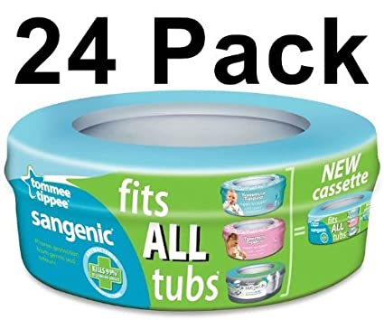 24 x Tommee Tippee - Recambios para papelera de pañales ...