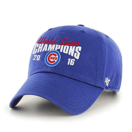 1b85cc4e96a85 Image Unavailable. Image not available for. Color  Chicago Cubs World  Series Champions Adjustable Hat Cap