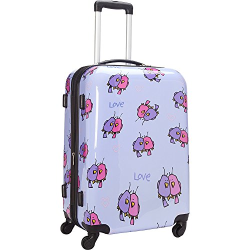 ed-heck-multi-love-birds-hardside-spinner-luggage-25-inch