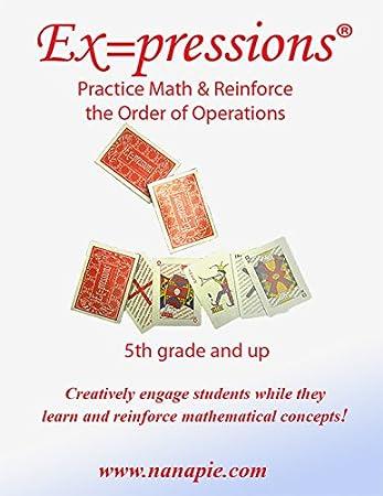Amazon.com: Ex=pressions STEM Math Card Game: Toys & Games