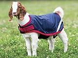 Horseware Ireland Waterproof Goat Rug Blanket Cover Navy Red - XX Large