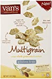 Van's Natural Foods Multigrain Gluten Free Crackers, 5 Ounce - 6 per case.