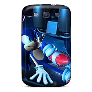 Samsung Galaxy S3 OWU29329UKVs Provide Private Custom Stylish Sonic Pictures Scratch Resistant Cell-phone Hard Cover -LauraAdamicska