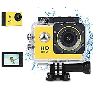 Kids Digital Camera, Phankey Waterproof Camera for Kids Toy for Boy Girls Holiday Birthday Gift with 2.0 Inch LCD Display and 8GB SD Card