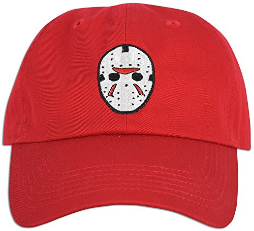 8ed2d9cba0d Mask Embroidered Friday the 13th Hat Baseball Cap Horror Jason Dad hat -  Buy Online in UAE.