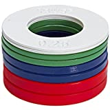 5lb Fractional Plate Set (1/4 lb, 1/2 lb, 3/4 lb, and 1 lb) / Micro-Loading for Weightlifting …