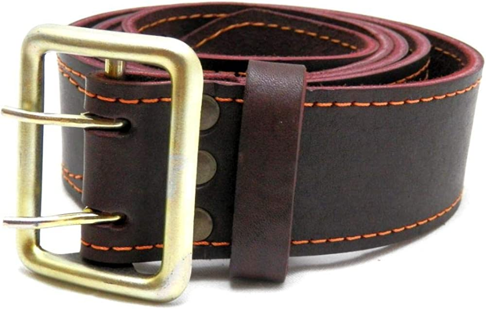 Genuine Leather Belt Soldiers of the Army of Ukraine Tactical Officer by Deswood
