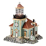 Department 56 New England Village Tucker Point Light House Lit Building, 7.32 inch