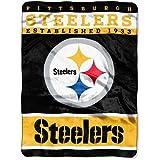 "NFL Plush Raschel Throw Blanket 12th Man Design, 60"" x 80"""