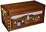NOVICA ''Andean Village'' Cedar Chest Box