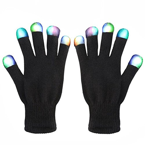 3-12 Year Old Toys Best LED Flashing Gloves Cool Fun-NEW Gifts Teen Girls Boys