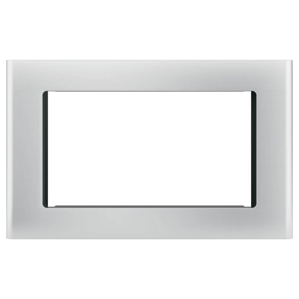 """GE Stainless Steel 30"""" Built-in Microwave Oven Trim Kit"""