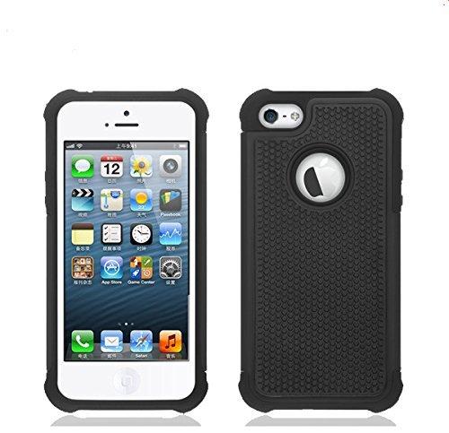OSurce iPhone 5S ultra résistante, EXTREME Étui de Protection pour iPhone 5S Noir