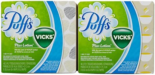 Tissues: Puffs Plus Lotion with Vicks