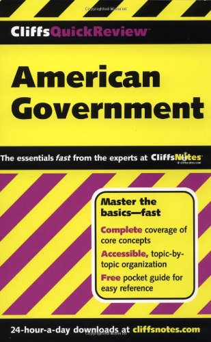 CliffsQuickReview American Government