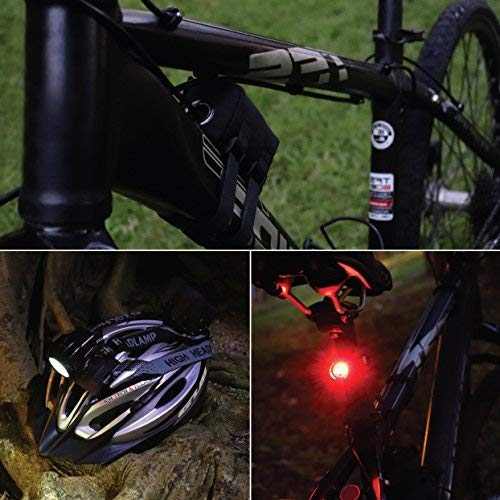 Bright Eyes Fully 1600 Rechargeable Mountain, Road Battery Comes Diffuser and Free TAILLIGHT