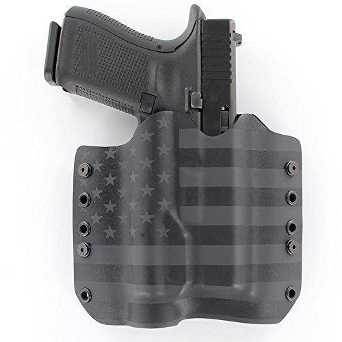 OWB TLR-1 Holster - USA Stealth Black (Right-Hand, Glock 19,23,32 Gen 3,4,5)