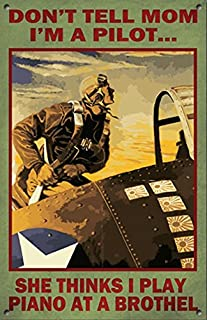 product image for Surf To Summit Vintage Style Air Force Metal Sign Funny Gift Plasma Cut Metal Sign American Sign Flying Plane Sign Vintage Retro