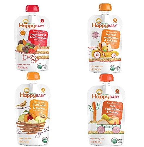 Happy Baby Organic Variety 16 Count